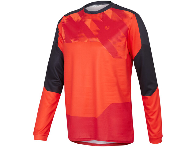 Ziener Nanning Longsleeve Jersey Men red pop